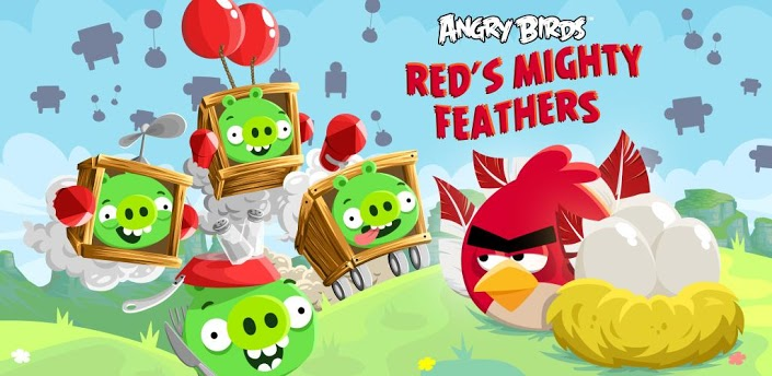 Скачать Angry Birds Red's Mighty Feathers ПК на компьютер (2013/RUS/ENG/RePack)